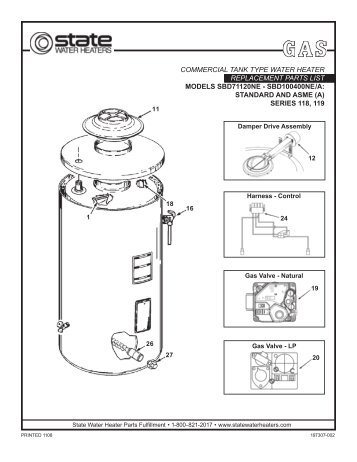 Rv Hot Water Heater Wiring Diagram RV Hot Water Heater