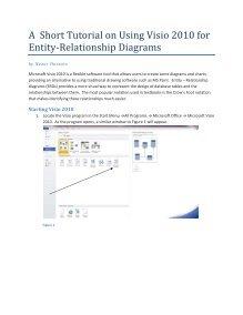 Entity Relationship Diagram Visio : entity, relationship, diagram, visio, Short, Tutorial, Using, Visio, Entity-Relationship, Diagrams
