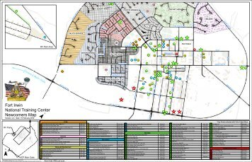 GIS Overview US Army National Training Center Fort