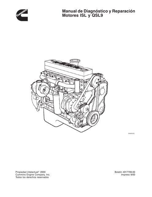 Manual De Diagnostico y Reparacion Motores ISL y QSL9