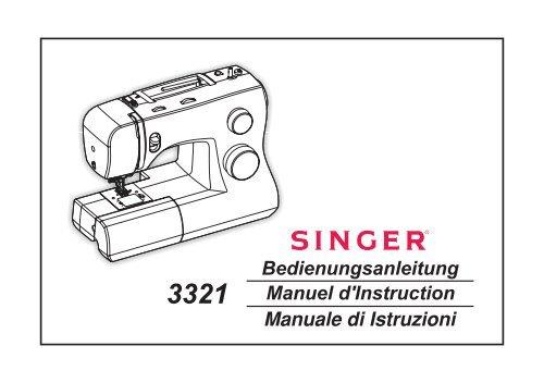 Manuale di Istruzioni 3321 Manuel d'Instruction