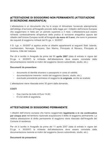 Soggiorno Permanente Cittadini Ue - Idee per la decorazione di ...