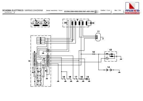 mase generator wiring diagram