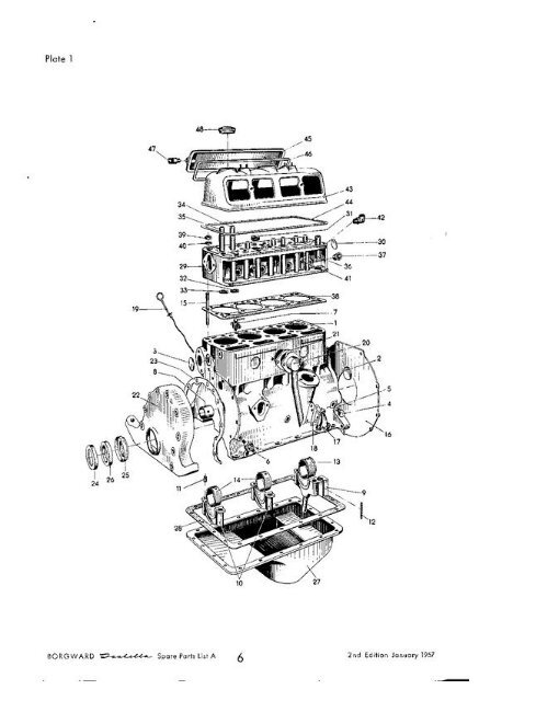 Best View Of Engine Spare Parts List And Description