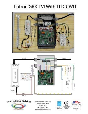 lutron grx tvi wiring diagram hino fd grx-tvi ten volt interface -