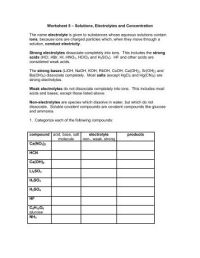 solutions concentration worksheet - DriverLayer Search Engine