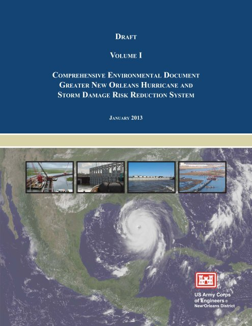 Draft Comprehensive Environmental Document Vol I Nola