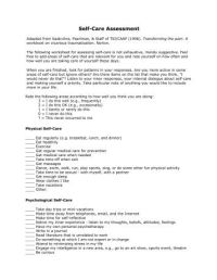 All Worksheets  Self Care Worksheets