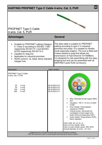 harting profinet type c cable 4 wire cat 5 pur profinet ?resize\=358%2C507\&ssl\=1 cat5e wiring diagram b crossover cable diagram, cat5e connectors cat5e wiring diagram a or b at fashall.co
