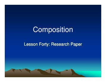 An Example Of A Finished Research Paper