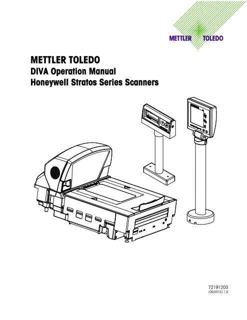 METTLER TOLEDO DIVA Operation Manual Honeywell Stratos