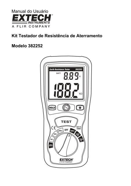 Manual do Usuário Kit Testador de Resistência de
