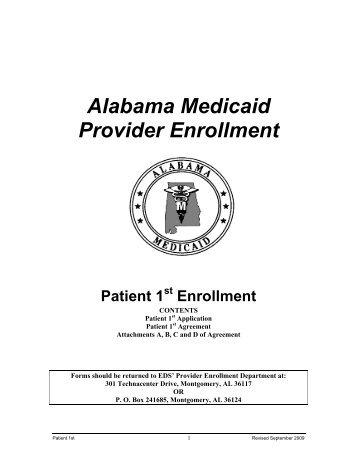 Alabama Medicaid Provider Enrollment