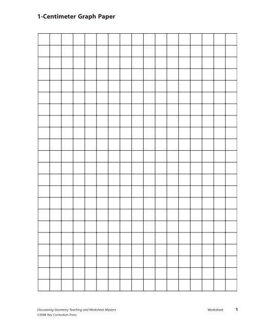 Geometry iso dot paper