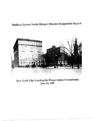 Upper East Side Historic District Designation Report Nyc Gov