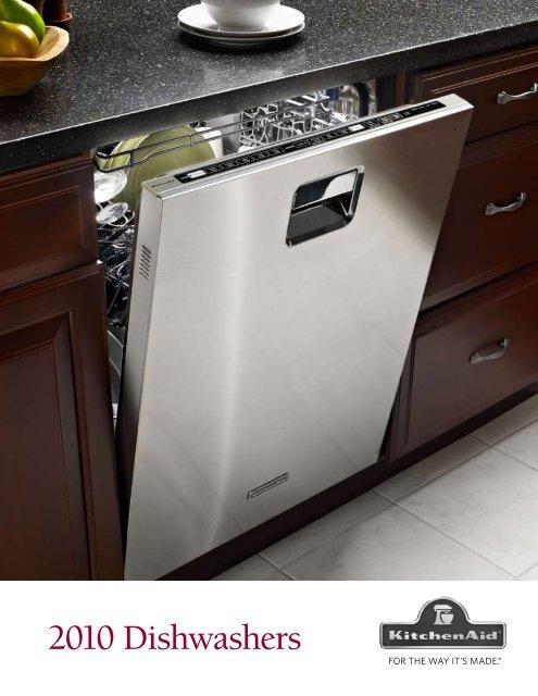 kitchen aide dishwasher white flat panel cabinets kitchenaid brochure advancerefrigeration com
