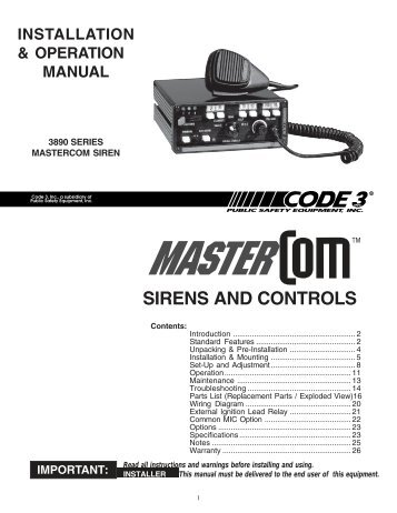 sirens and controls code 3 public safety equipment?resize\=357%2C462\&ssl\=1 code 3 supervisor tl wiring diagram code wiring diagrams collection  at eliteediting.co