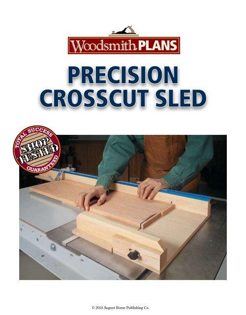 Precision Crosscut Sled Pdf