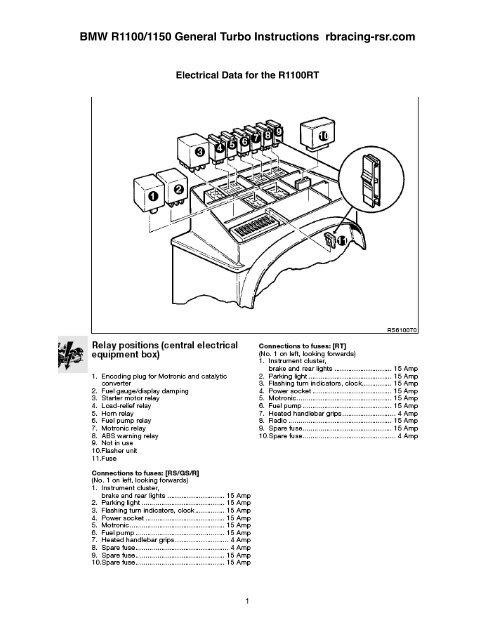 Wiring Diagram Bmw R1100g