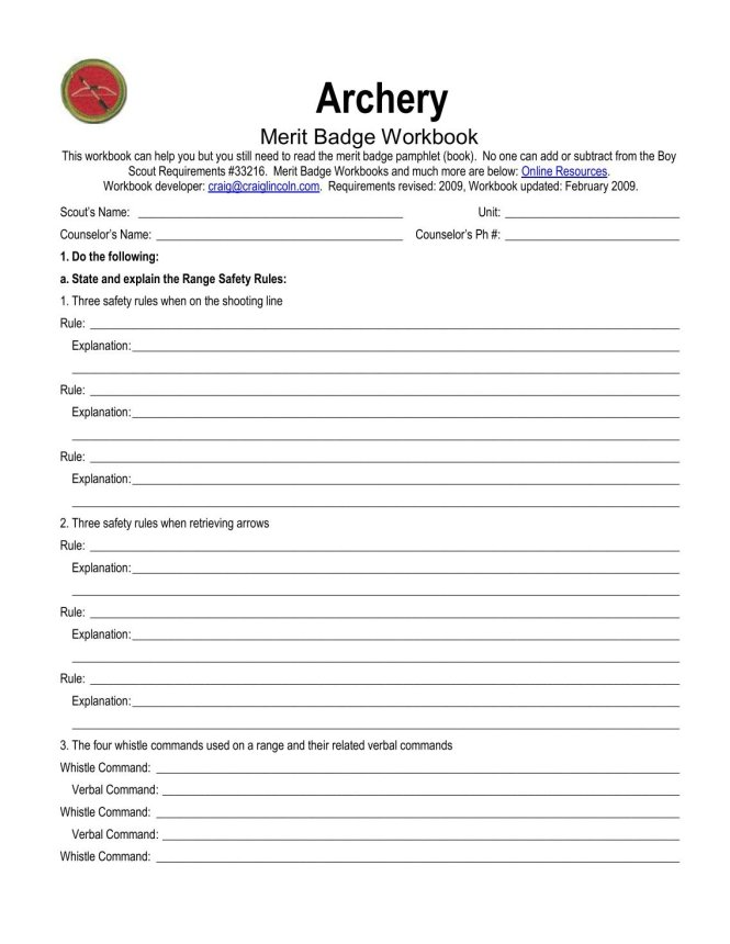Family Life Merit Badge Requirements – Best Life 2017