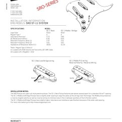 Emg 1 Pickup Wiring Diagram Njdot Straight Line 10 Free Magazines From Emgpickups Com