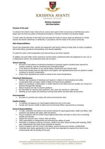 Head Chef Job Description Unforgettable Shift Leader Resume