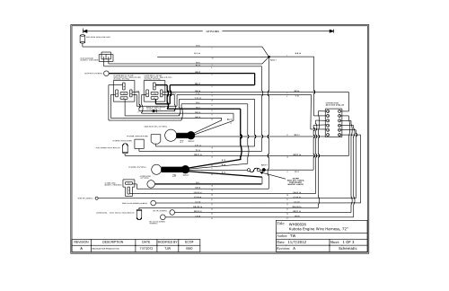 kubota wiring diagram mazda b2200 electrical engine waterous