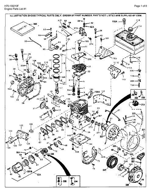Bestseller: Tecumseh Engine Parts Manual