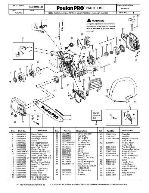 paramount parts list weed eater parts list poulan