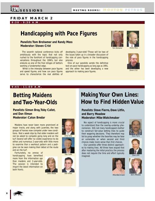 Looking At The Horse Racing Form Horse Racing Blogdaily