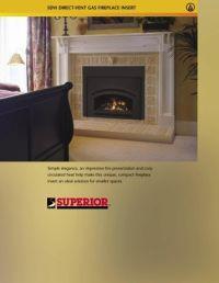 Medina direct-vent Gas Fireplace Insert