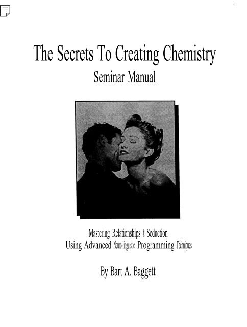Download Sex Secrets to Creating Chemistry