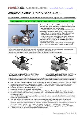 rotork wiring diagram awt marine power 5 7 it magazines italia attuatori elettrici serie