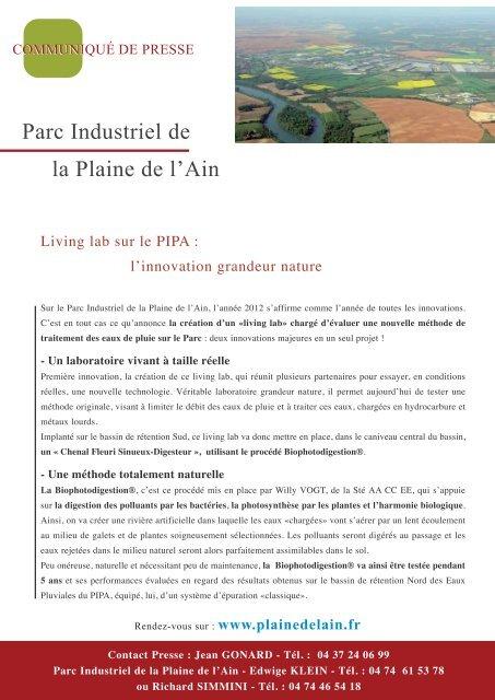 Parc Industriel De La Plaine De L'ain : industriel, plaine, l'ain, Industriel, Plaine, L'Ain