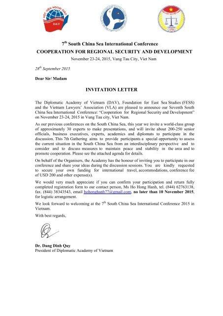 invitation letter programme ht 7th