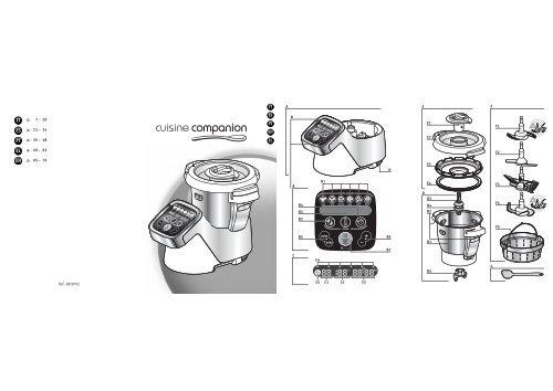 Moulinex COMPANION HF802A manuale d'istruzioni pdf