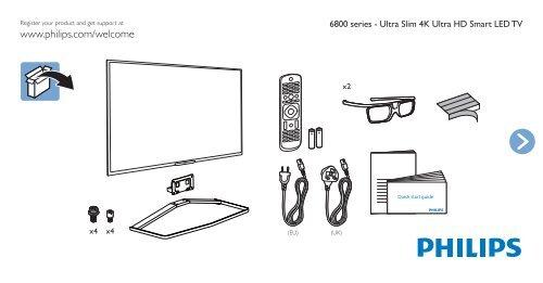 Anteprima per Philips 6800 series Smart TV LED ultra
