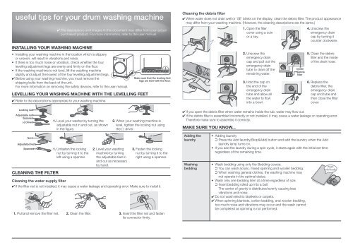 Samsung Lavasciuga WD906P4SAWQ manuale d'istruzioni pdf