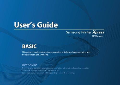 Samsung Stampante Laser b/n Xpress M2022 (20 ppm) manuale d'istruzioni pdf - ManualsMania