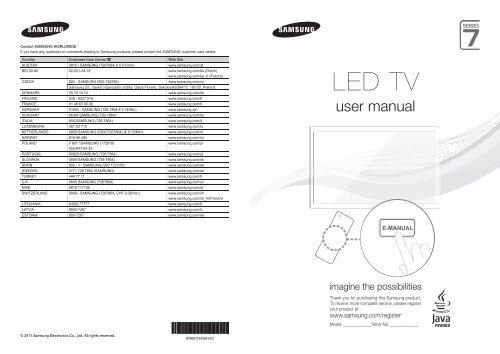 Samsung TV 3D LED 40