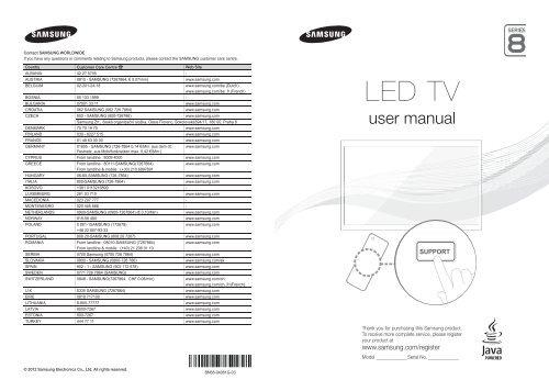 Samsung SMART TV 46