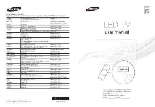 Samsung TV 3D LED 50