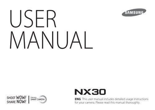 Samsung NX30 (18-55 mm) manuale d'istruzioni pdf