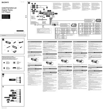 sony cdx gt600ui wiring diagram jmstar 150cc scooter gt550ui -