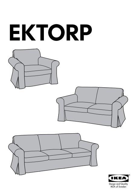 Divani 2 3 Posti Ikea : divani, posti, EKTORP, Housse, Canapé, 60254560, Plan(s), Montage
