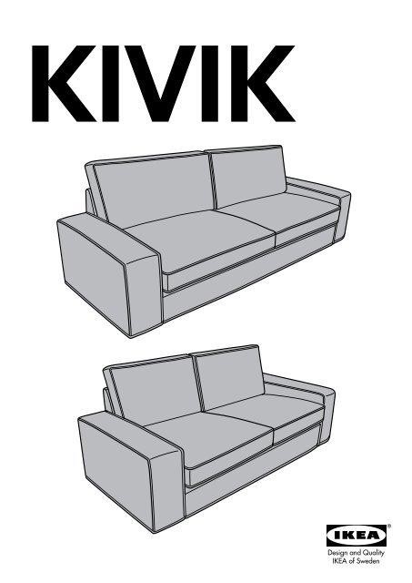 Ikea Kivik Canapampeacute Dangle 2332 Places