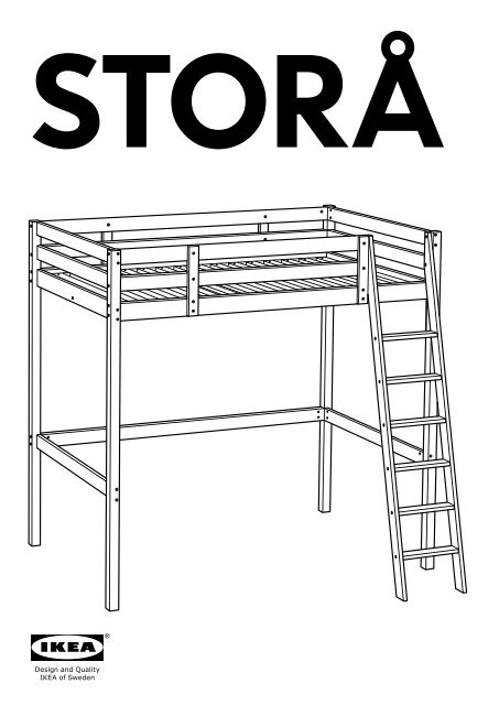 ikea stor aring structure lit