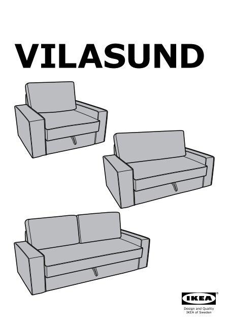 Divani 2 3 Posti Ikea : divani, posti, VILASUND, MARIEBY, Convertible, Places, S19907243, Plan(s), Montage