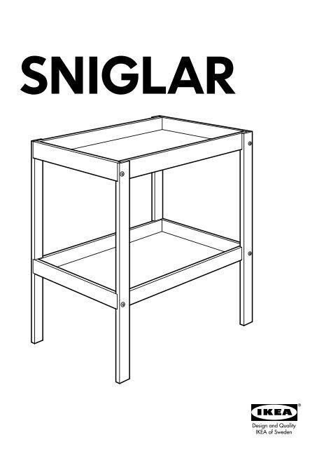 ikea sniglar table amp agrave langer