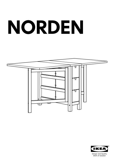 ikea norden table amp agrave rabat